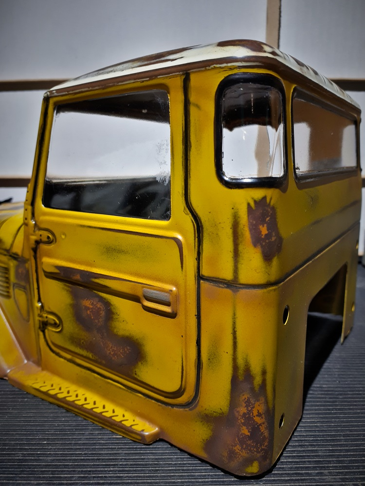 Initial wethering of cab close up 2..jpg