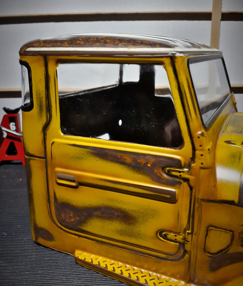 Initial wethering of cab close up..jpg